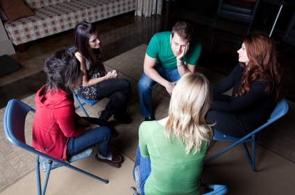 individuals in group therapy